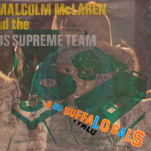 Malcolm McLaren - Buffalo Gals - Album Cover