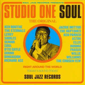 Various - Studio One Soul - Album Cover