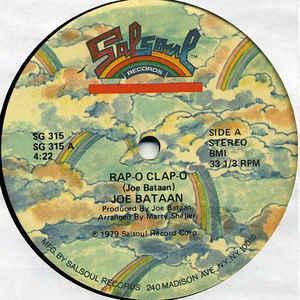 Joe Bataan - Rap-O Clap-O - Album Cover
