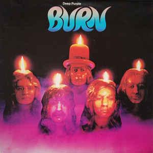 Deep Purple - Burn - Album Cover