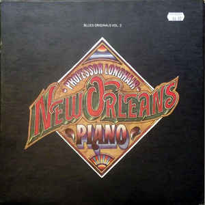 Professor Longhair - New Orleans Piano - Album Cover