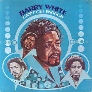 Barry White - Can't Get Enough - Album Cover
