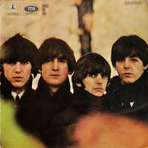 The Beatles - Beatles For Sale - Album Cover