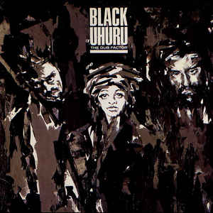 Black Uhuru - The Dub Factor - Album Cover