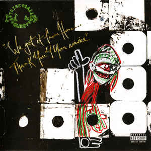 A Tribe Called Quest - We Got It From Here... Thank You 4 Your Service - Album Cover