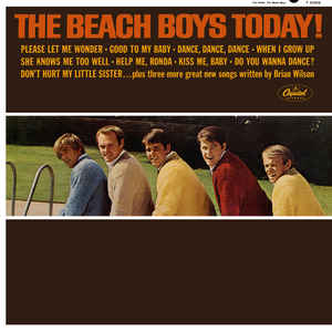 The Beach Boys - The Beach Boys Today! - Album Cover
