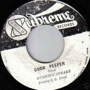 Burning Spear - Door Peeper / Soul Shake - VinylWorld