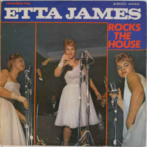 Etta James - Rocks The House - Album Cover