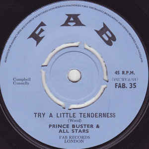 Prince Buster's All Stars - Try A Little Tenderness / All My Loving - VinylWorld