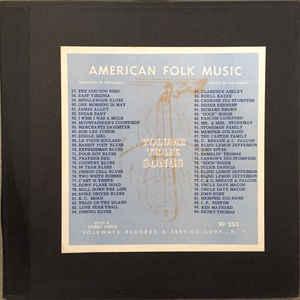 Anthology Of American Folk Music Volume Three: Songs - Album Cover - VinylWorld