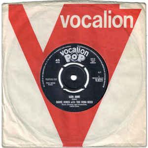 Davie Jones & The King Bees - Liza Jane - Album Cover