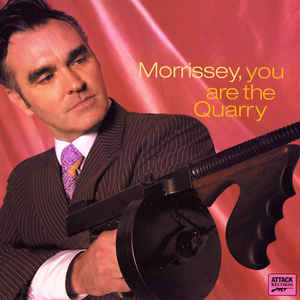 Morrissey - You Are The Quarry - Album Cover
