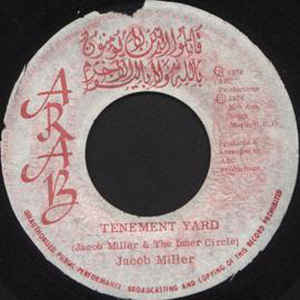 Jacob Miller - Tenement Yard - Album Cover