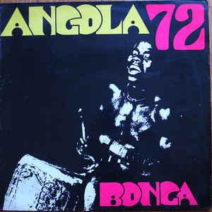 Bonga - Angola 72 - Album Cover