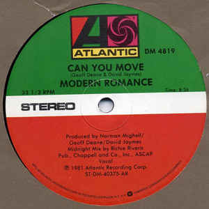Modern Romance - Can You Move - VinylWorld