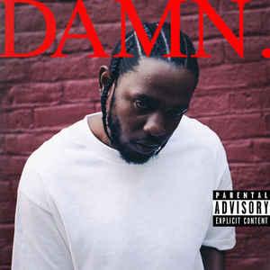 Kendrick Lamar - Damn - Album Cover