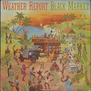 Weather Report - Black Market - Album Cover