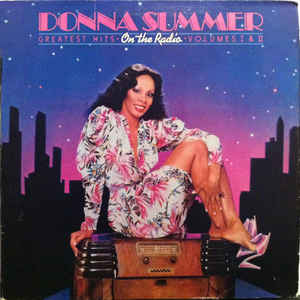 Donna Summer - On The Radio - Greatest Hits Vol. I & II - Album Cover