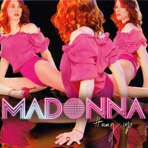Madonna - Hung Up - Album Cover