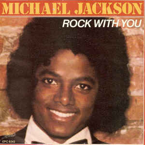 Michael Jackson - Rock With You - Album Cover
