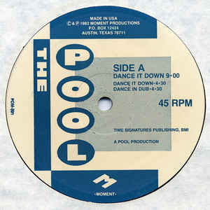 The Pool - Dance It Down - VinylWorld