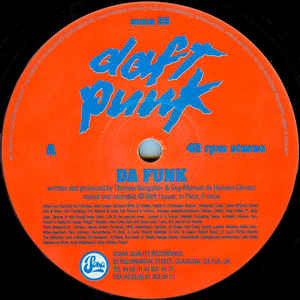 Daft Punk - Da Funk - Album Cover