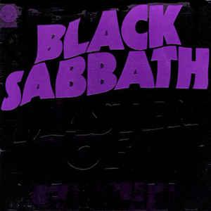 Black Sabbath - Master Of Reality - Album Cover