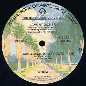 Lamont Dozier - Going Back To My Roots - Album Cover