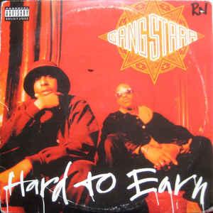 Gang Starr - Hard To Earn - Album Cover