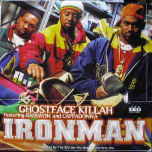 Ghostface Killah - Ironman - Album Cover