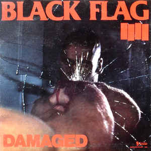 Black Flag - Damaged - Album Cover