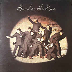 Wings (2) - Band On The Run - Album Cover