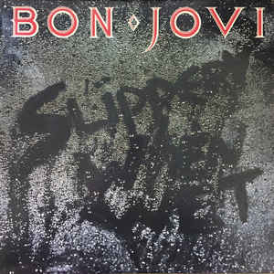 Bon Jovi - Slippery When Wet - Album Cover