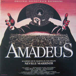 Amadeus (Original Soundtrack Recording) - Album Cover - VinylWorld