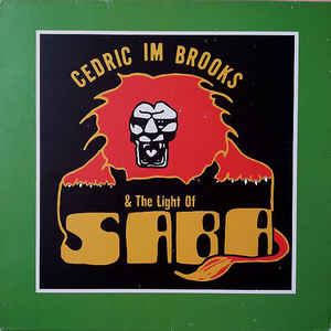"Cedric ""Im"" Brooks - The Magical Light Of Saba - Album Cover"
