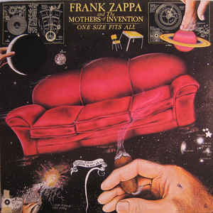 Frank Zappa - One Size Fits All - Album Cover