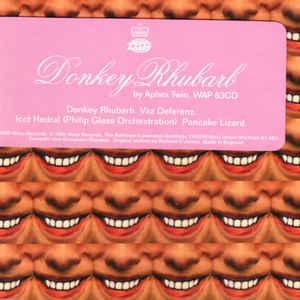 Aphex Twin - Donkey Rhubarb - Album Cover