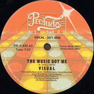 Visual - The Music Got Me - Album Cover