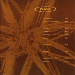 Orbital - Album Cover - VinylWorld
