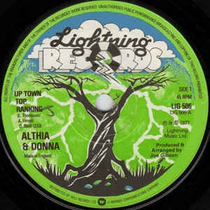 Althea & Donna - Up Town Top Ranking / Calico Suit - VinylWorld
