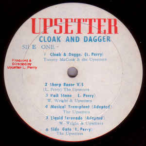 The Upsetter - Cloak And Dagger - VinylWorld
