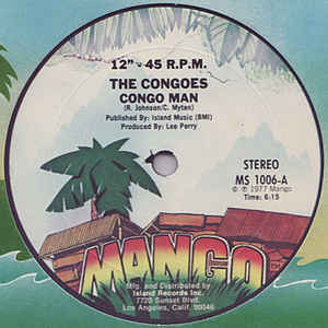 The Congos - Congo Man / Congo Man Chant - Album Cover