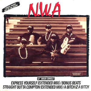 N.W.A. - Express Yourself - Album Cover