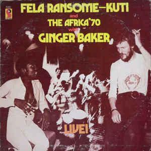 Fela Kuti - Live! - Album Cover