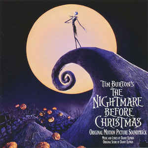 Tim Burton's The Nightmare Before Christmas (Original Motion Picture Soundtrack) - Album Cover - VinylWorld