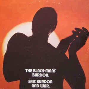Eric Burdon & War - The Black-Man's Burdon - Album Cover