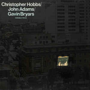 Christopher Hobbs - Ensemble Pieces - Album Cover