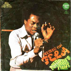 Fela Kuti - Music Of Fela - Roforofo Fight - Album Cover