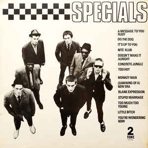 The Specials - Specials - Album Cover