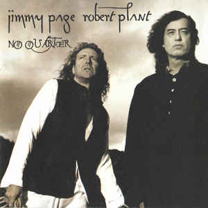 Jimmy Page - No Quarter: Jimmy Page & Robert Plant Unledded - Album Cover